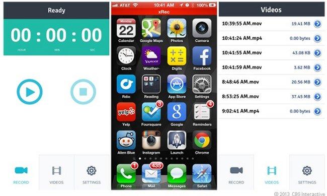 #xRec App Para #iPhone Que Permite Grabar Lo Que Ocurre En Tu Pantalla