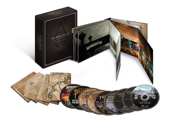 Elder Scrolls Anthology Desde Arena  Hasta #Skyrim (#Bethesda)