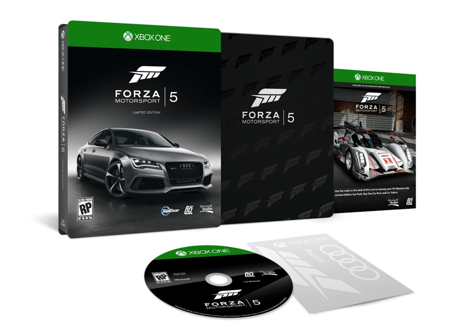 #Forza Motorsport 5 Edición Limitada Ya En Preventa (#XboxOne)