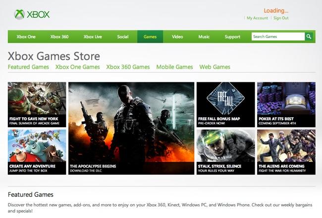 Microsoft #Xbox Live Marketplace Cambia El Nombre A Xbox Games Store