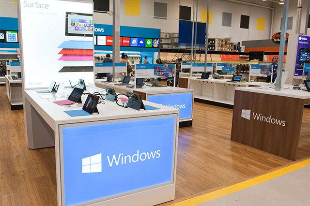 Primera #Windows Store En Best Buy Abre Hoy