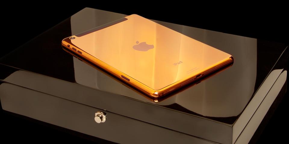 iPad Mini y Air De Oro O Platino De 24 Kilates Anunciada.