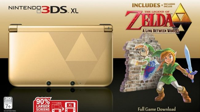 Zelda: A Link Between Worlds 3DS XL Llegará A América