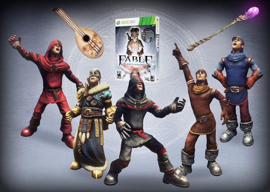 Fable Anniversary Confirmado En Febrero Para Xbox 360