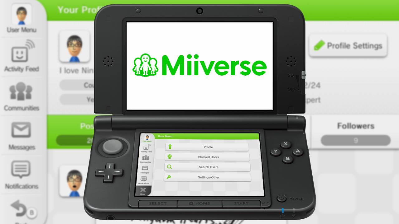 Nintendo unifica 3DS y Wii U con Nintendo Network + Miiverse
