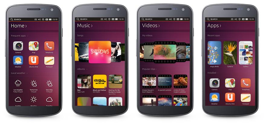 Primer Ubuntu Touch para el 2014