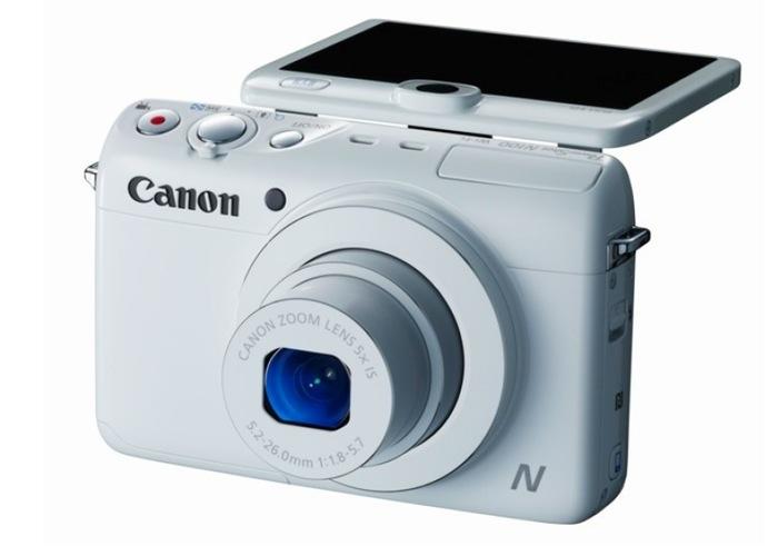 #CES2014: ¡Canon PowerShot N100 Ultra Compacta!