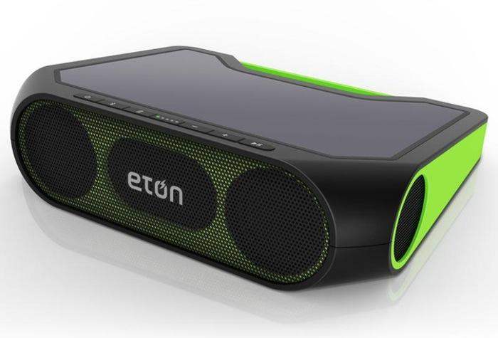 CES 2014: Eton Rukus Xtreme Bocina Bluetooth Que Se Carga Con El Sol