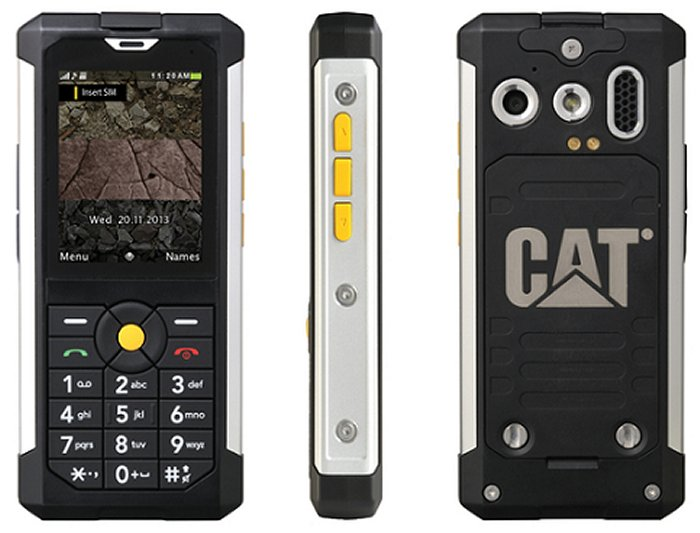 CES 2014: CAT B100 El Teléfono Indestructible