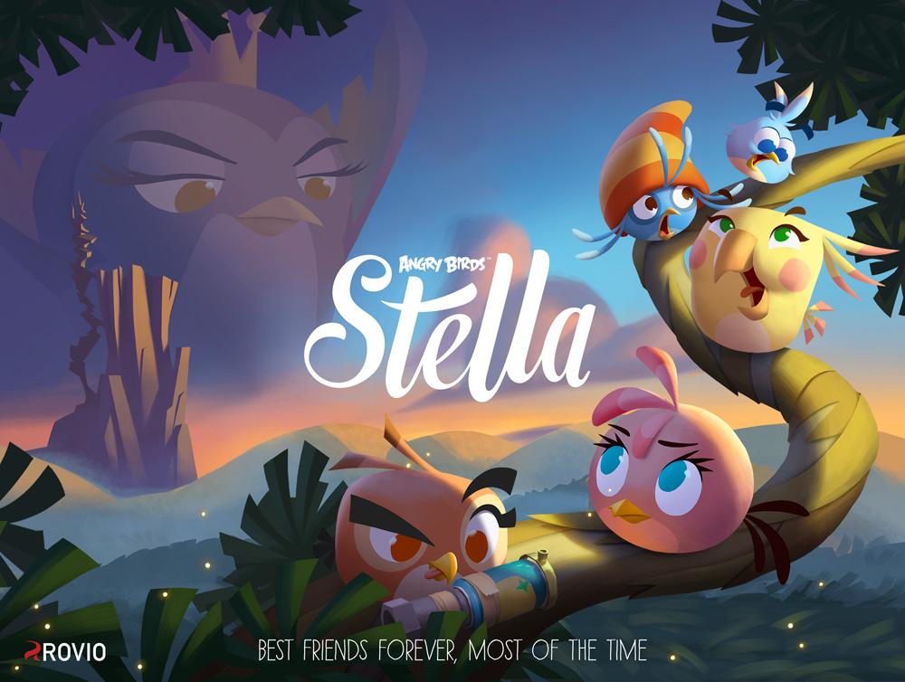 Angry Birds Stella La Nueva Entrega De Rovio