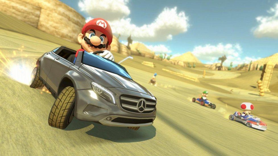 Mercedes-Benz llega a Mario Kart 8 en un DLC