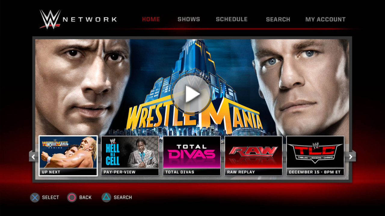 WWE Network ya se encuentra disponible en Xbox One
