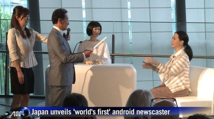 Conoce Los Primeros Robots Presentadores De Noticias