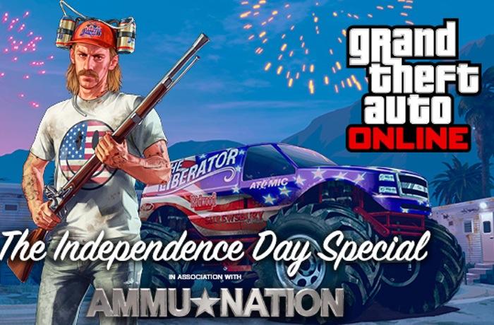 GTA Online Festeja La Independencia de Estados Unidos