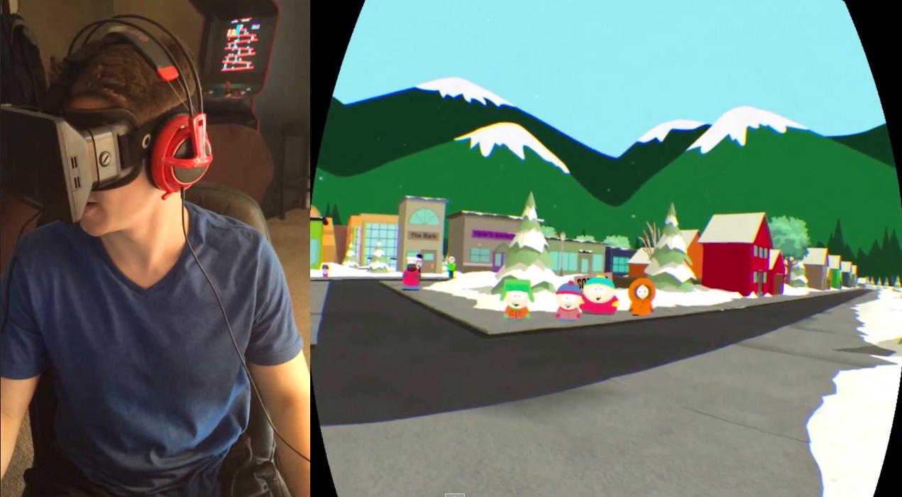 Visita South Park con Oculus Rift