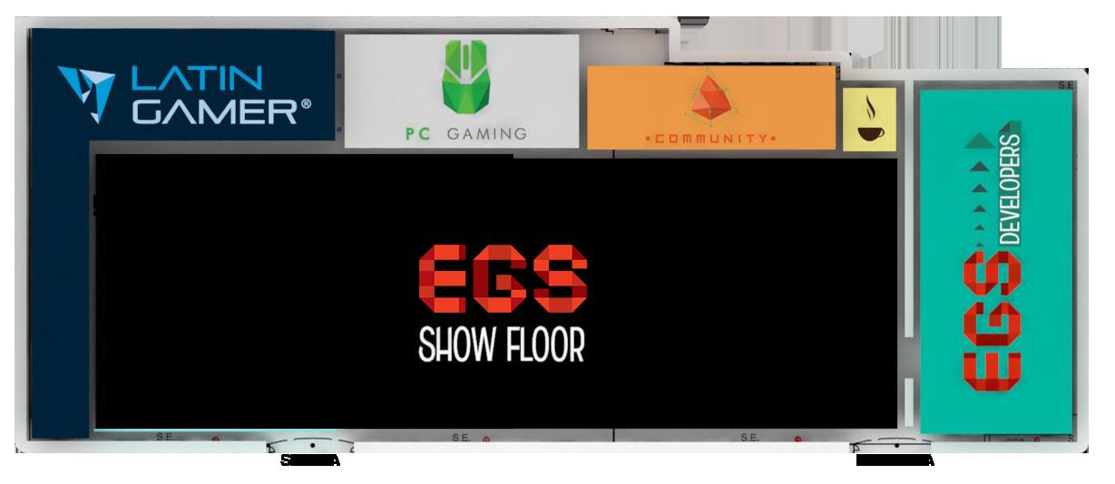 Conoce las zonas que veras en EGS 2014