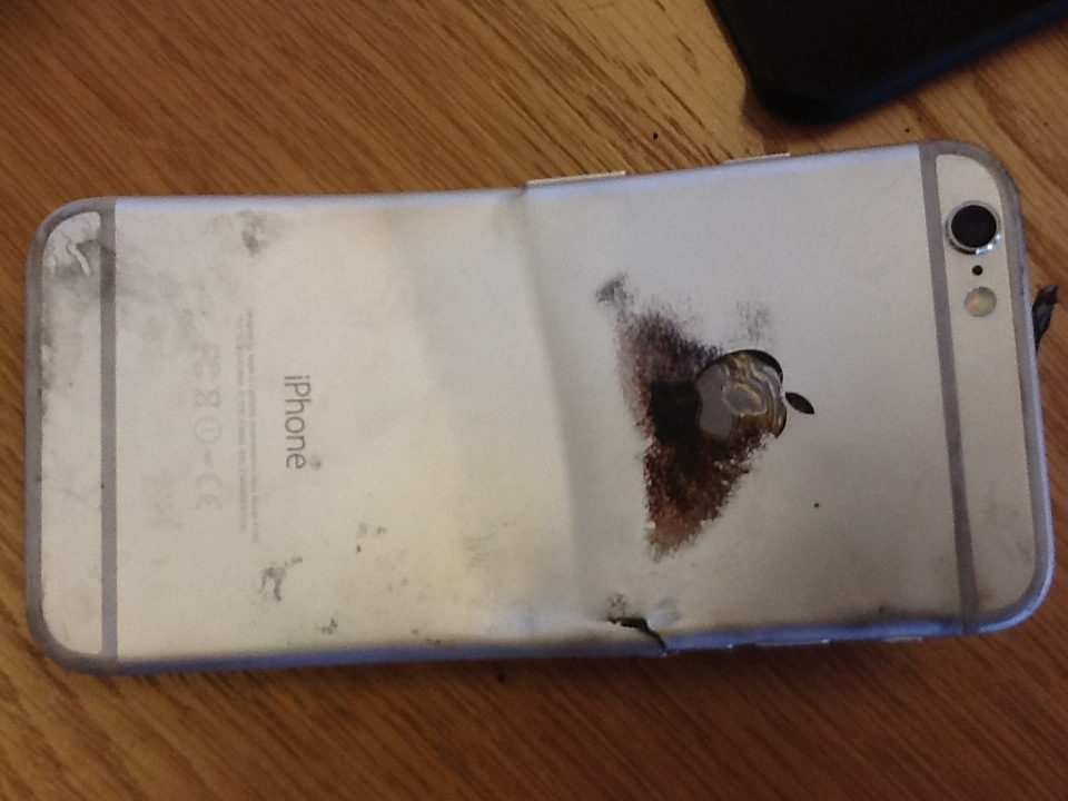 iPhone 6 le explota a usuario dejándolo con quemaduras