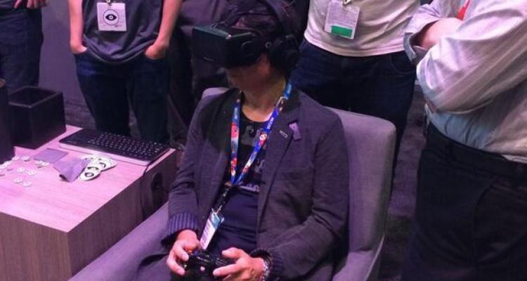 Miyamoto Oculus Rift
