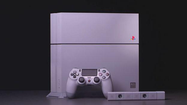 PS4 Edición Limitada Aniversario 20 De Playstation