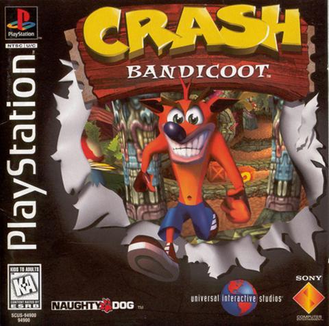 La reco del pasado: Crash Bandicoot