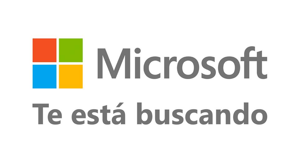 Microsoft busca gente para trabajar