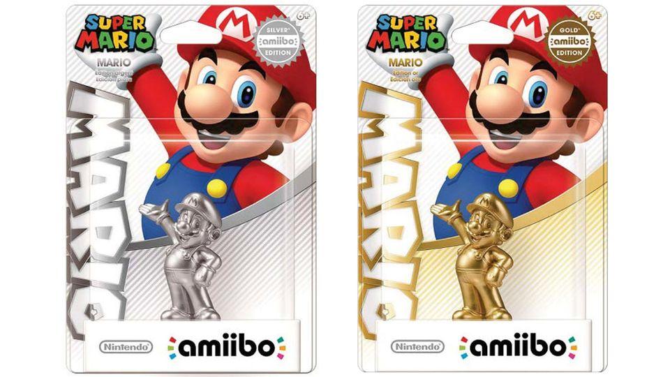 Nintendo tendrá Amiibos en color oro y plata