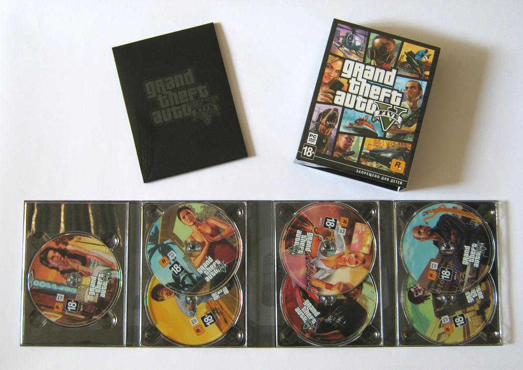 GTA V tendrá 7 discos para PC