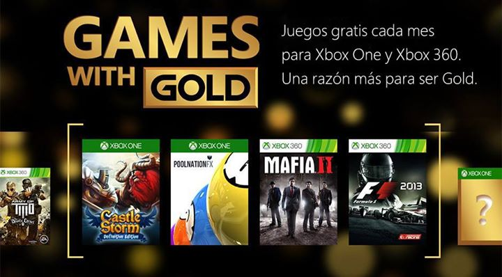 Games with Gold para mayo 2015