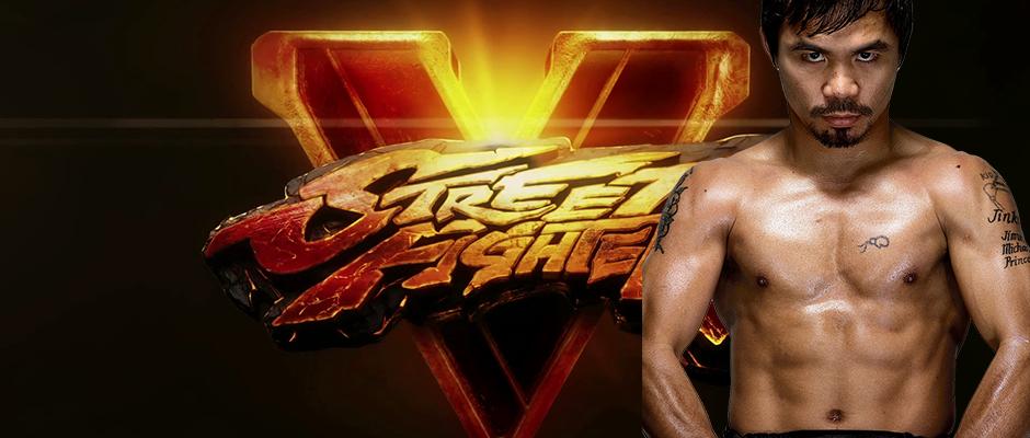 Street Fighter V apoyará a Manny Pacquiao en la pelea del siglo