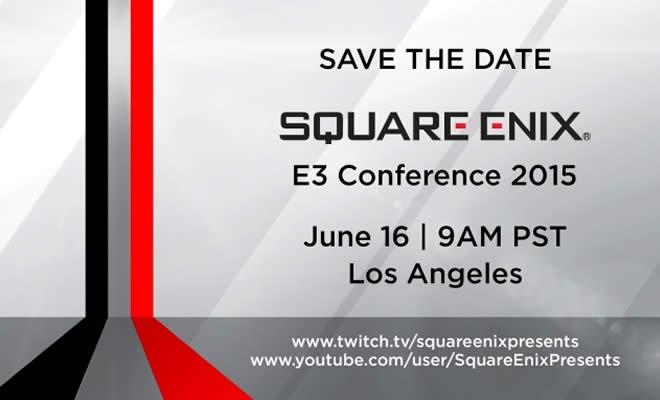Square Enix dará conferencia de prensa en E3