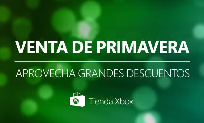Ofertas llegan a Xbox en esta primavera