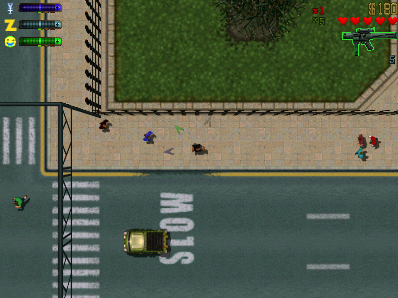 Recrean GTA 2 con un dron