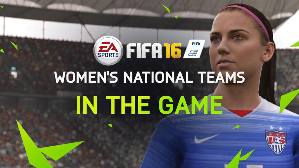 FIFA 16 incluirá equipos femeniles