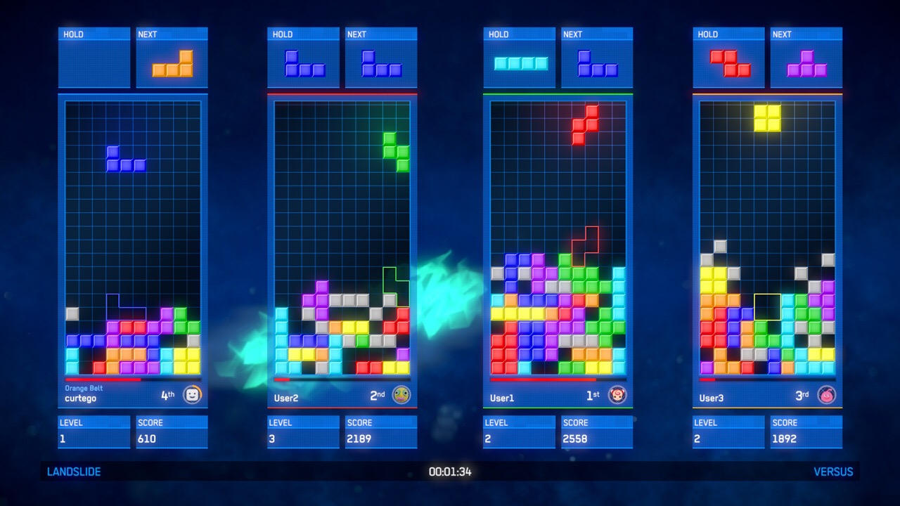 Llegan los DLC de Tetris Ultimate a PS4 y XBOX One