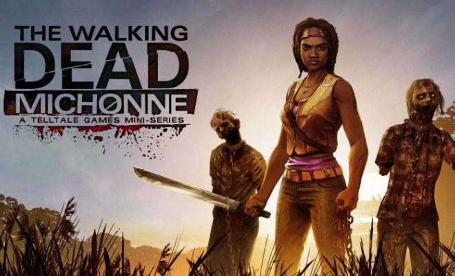 E3 2015 Michonne es anunciada en The Walking Dead