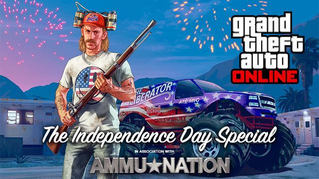 GTA Online tendrá fiesta el 4 de julio