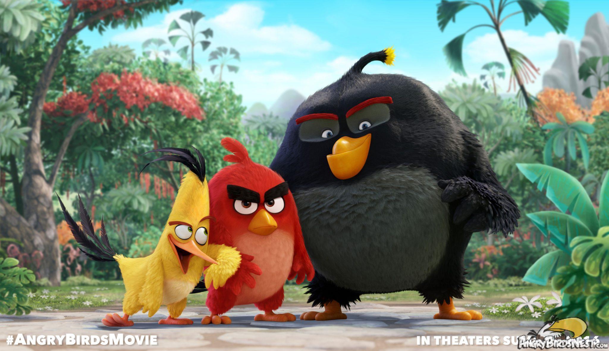 Angry Birds la película muestra primer tráiler