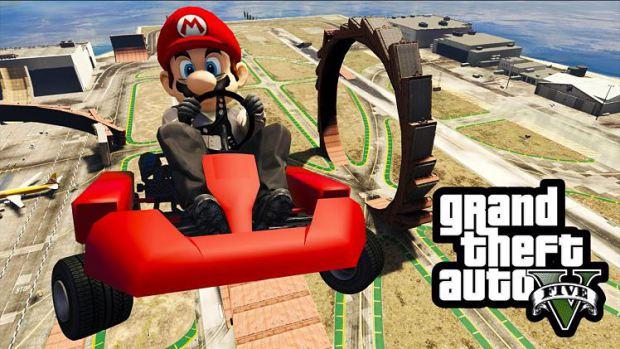 Mario Kart aparece en GTA V