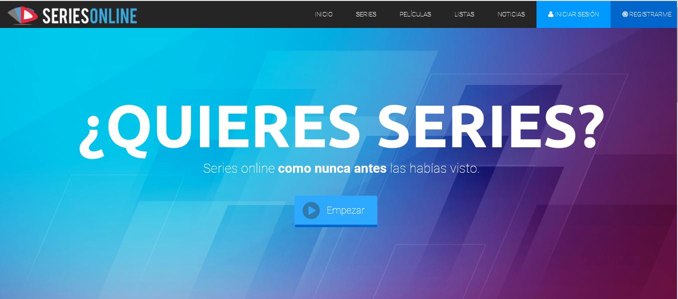 Series Online el mejor sitio para ver películas y series gratis