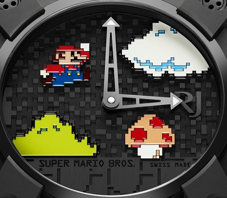 Super Mario Bros en Reloj una pieza única para coleccionistas