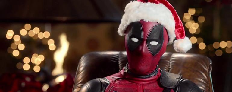 Una Navidad muy hardcore, Deadpool estrena trailer.