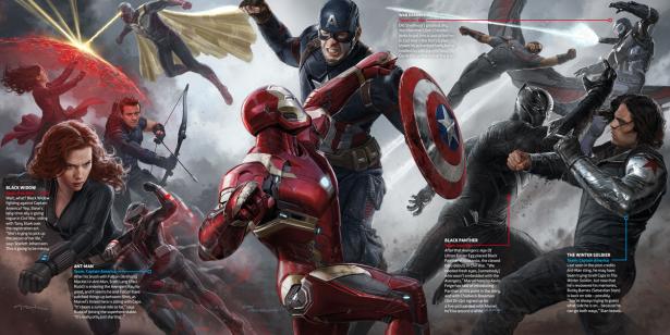Civil War llega con un nuevo Concept Art