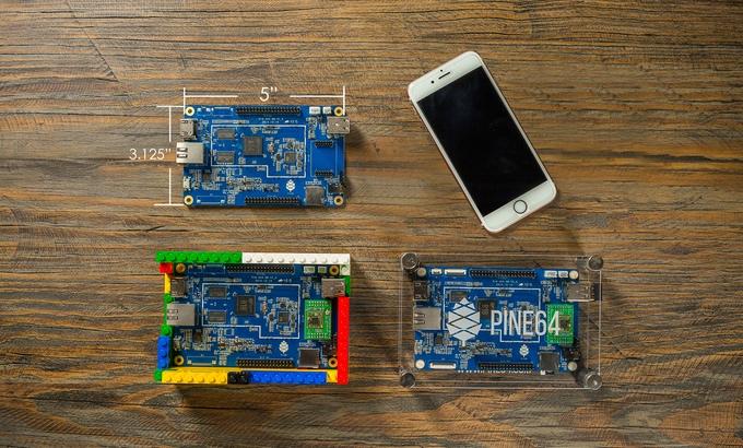 PINE A64 quiere ganarle a la Raspberry Pi