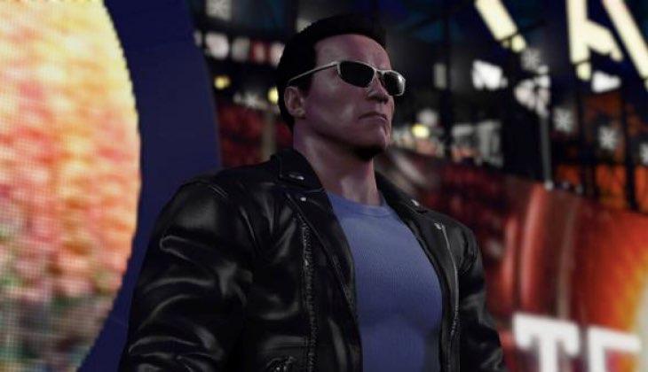 "Arnold Schwarzenegger ""The Terminator"" llega a WWE 2K16"