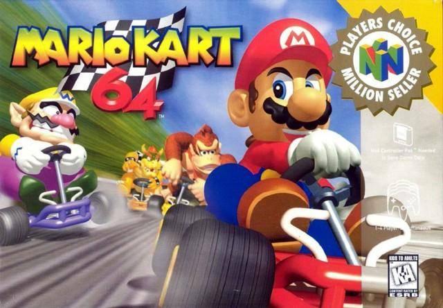 Mario Kart 64 llegara próximamente a la eShop de Wii U
