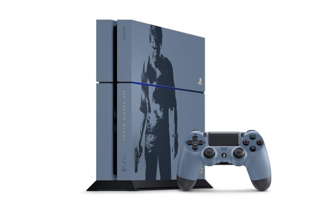 Bundle especial de PS4 en edición limitada de Uncharted 4