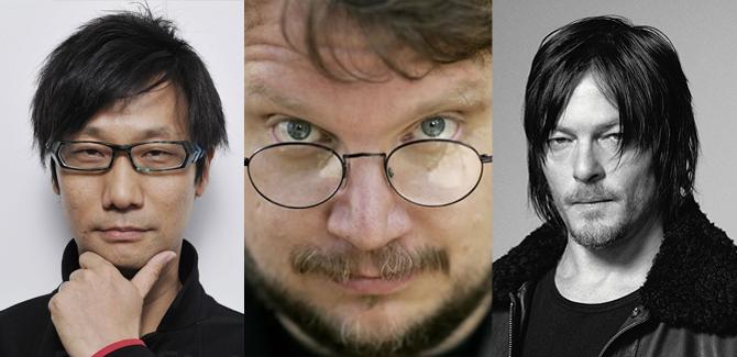 Reunión Hideo Kojima, Del Toro y Reedus Acaso se traen algún plan