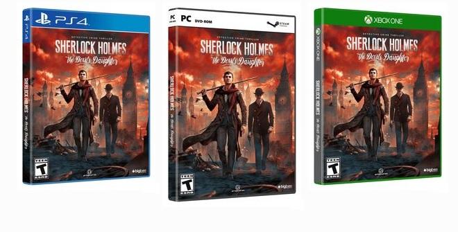 Sherlock Holmes The Devil's Daughter ya tiene fecha de lanzamiento