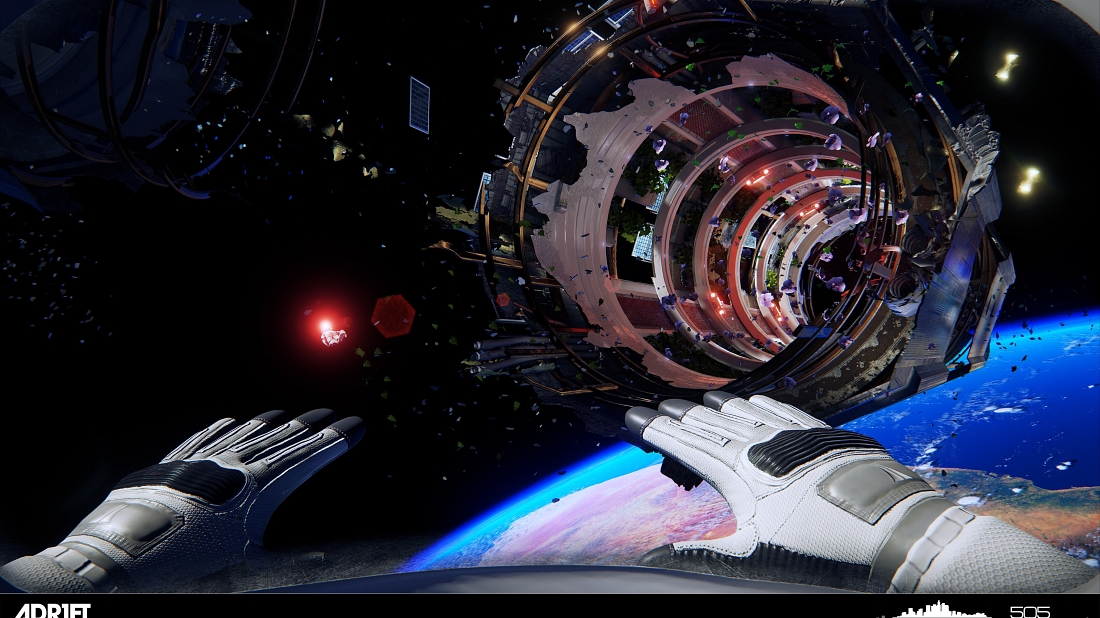Explora el desastre espacial con este nuevo trailer de Adr1ft