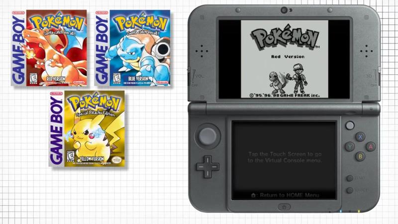 Mira los trailers de Pokémon Red, Pokémon Blue y Pokémon Yellow